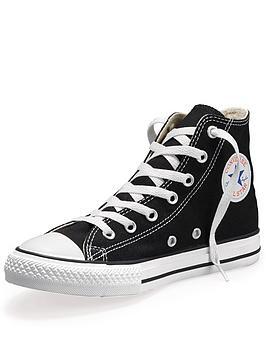 Converse All Star HighTop Junior Kids Plimsolls  Black