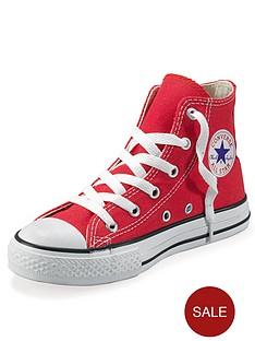 converse-all-star-hi-junior-kids-plimsolls-red
