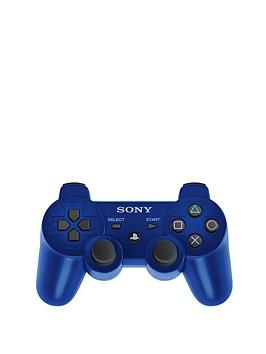 playstation-3-blue-dualshock-3-rumble-pad-controller