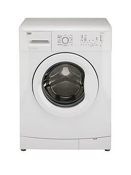 Beko Wms6100W 6Kg Load 1000 Spin Washing Machine  Next Day Delivery  White