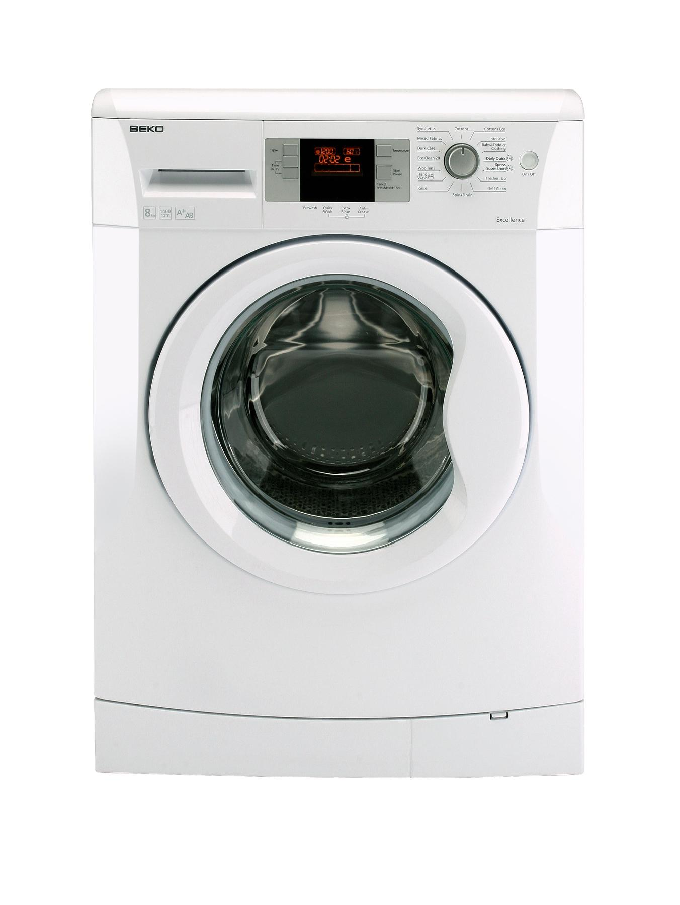 1200 Spin, 8kg Load Washing Machine - White