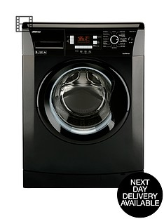 beko-wmb81241lb-1200-spin-8kg-load-washing-machine-black-next-day-delivery