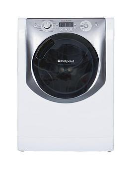 hotpoint-aq113l297e-1200-spin-11kg-load-washing-machine-white-with-titanium-trim