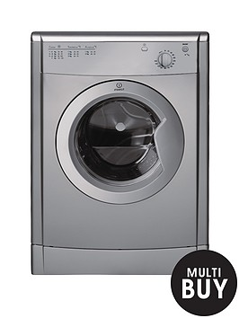 indesit-ecotime-idv75s-7kg-load-vented-tumble-dryer-silver