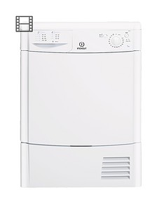 indesit-idc85l-8kg-load-condenser-dryer-white