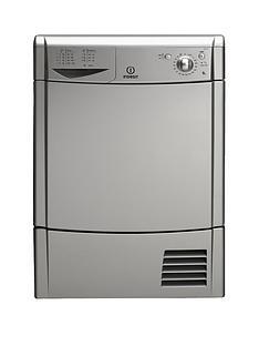 indesit-idc85sl-8kg-load-condenser-dryer-silver