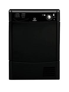 indesit-idc85kl-8kg-load-condenser-dryer-black