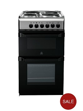 indesit-it50e1x-50-cm-single-oven-electric-cooker-stainless-steel