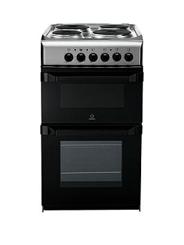 indesit-it50e1x-50cm-single-oven-electric-cooker-stainless-steel