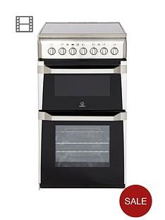 indesit-it50c1xxs-50-cm-twin-cavity-electric-cooker