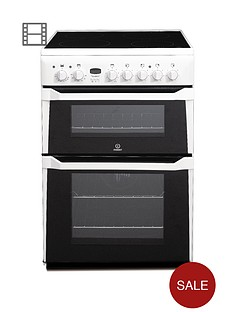 indesit-id60c2ws-ceramic-hob-double-oven-electric-cooker-white