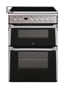 indesit-id60c2xs-60cm-double-oven-electric-cooker-with-ceramic-hob-stainless-steel