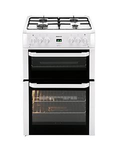 beko-bdvg694wp-60-cm-double-oven-gas-cooker-white