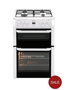 beko-bdvg694wp-60-cm-double-oven-gas-cooker-white