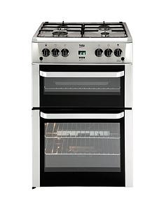 beko-bdvg694sp-60cm-gas-cooker-with-connection-silver