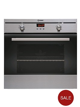 indesit-fim33kaix-built-in-single-electric-oven-stainless-steel