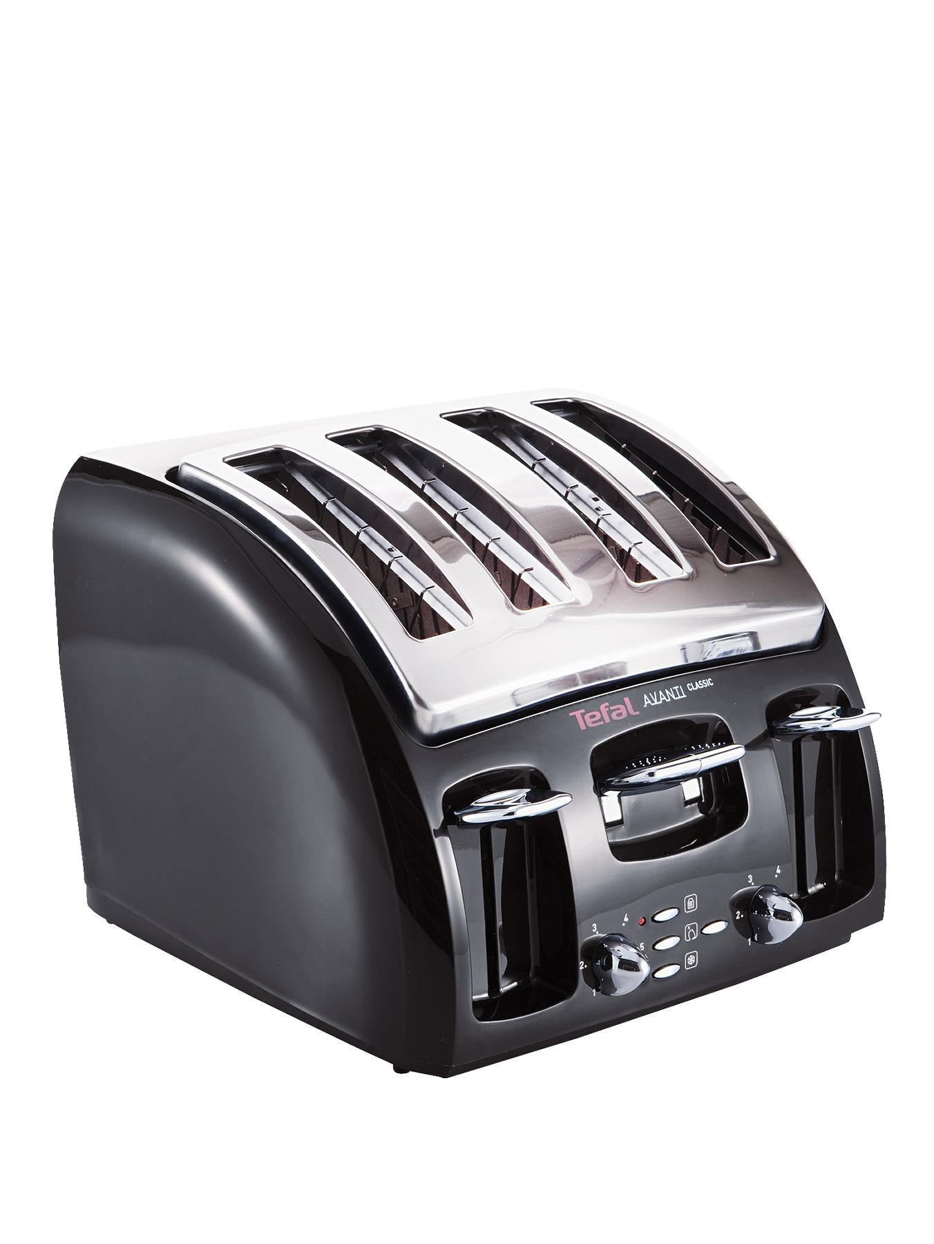 532718 Avanti 4 Slice Toaster  Black