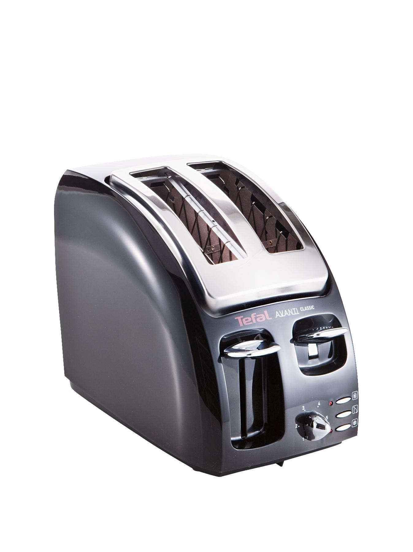 Avanti Icon 2 Slice Toaster  Black