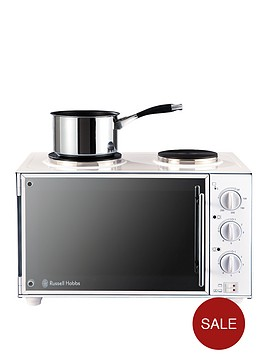 russell-hobbs-13824-1100-watt-mini-oven-with-grill-and-double-hob