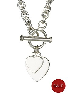 love-silver-elements-sterling-silver-double-heart-t-bar-pendant