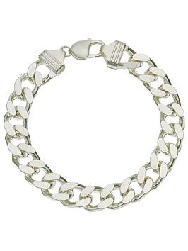 love-silver-sterling-silver-1oz-solid-diamond-cut-curb-bracelet