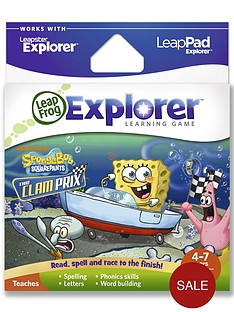 leapfrog-explorer-learning-game-spongebob-clam-prix