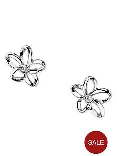 hot-diamonds-plumeria-stud-earrings