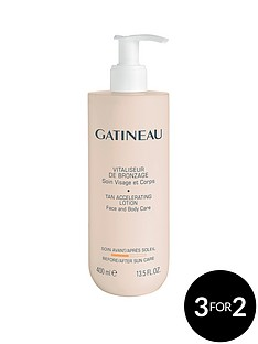 gatineau-tan-accelerator-400ml-free-gatineau-travel-eye-revive-kit
