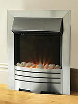SH2013 Inset Fire - Brushed Steel