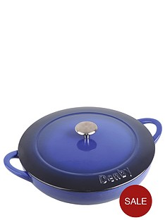 denby-imperial-blue-cast-iron-30-cm-shallow-casserole-dish