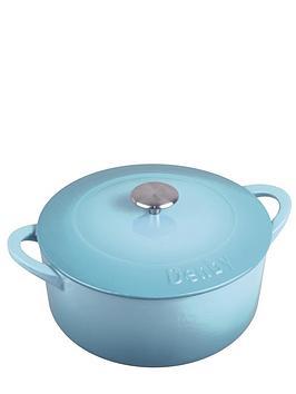 denby-24cm-cast-iron-casserole-dish