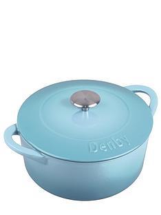 denby-azure-cast-iron-22-cm-round-casserole-dish