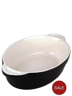 denby-jet-stoneware-medium-oval-dish