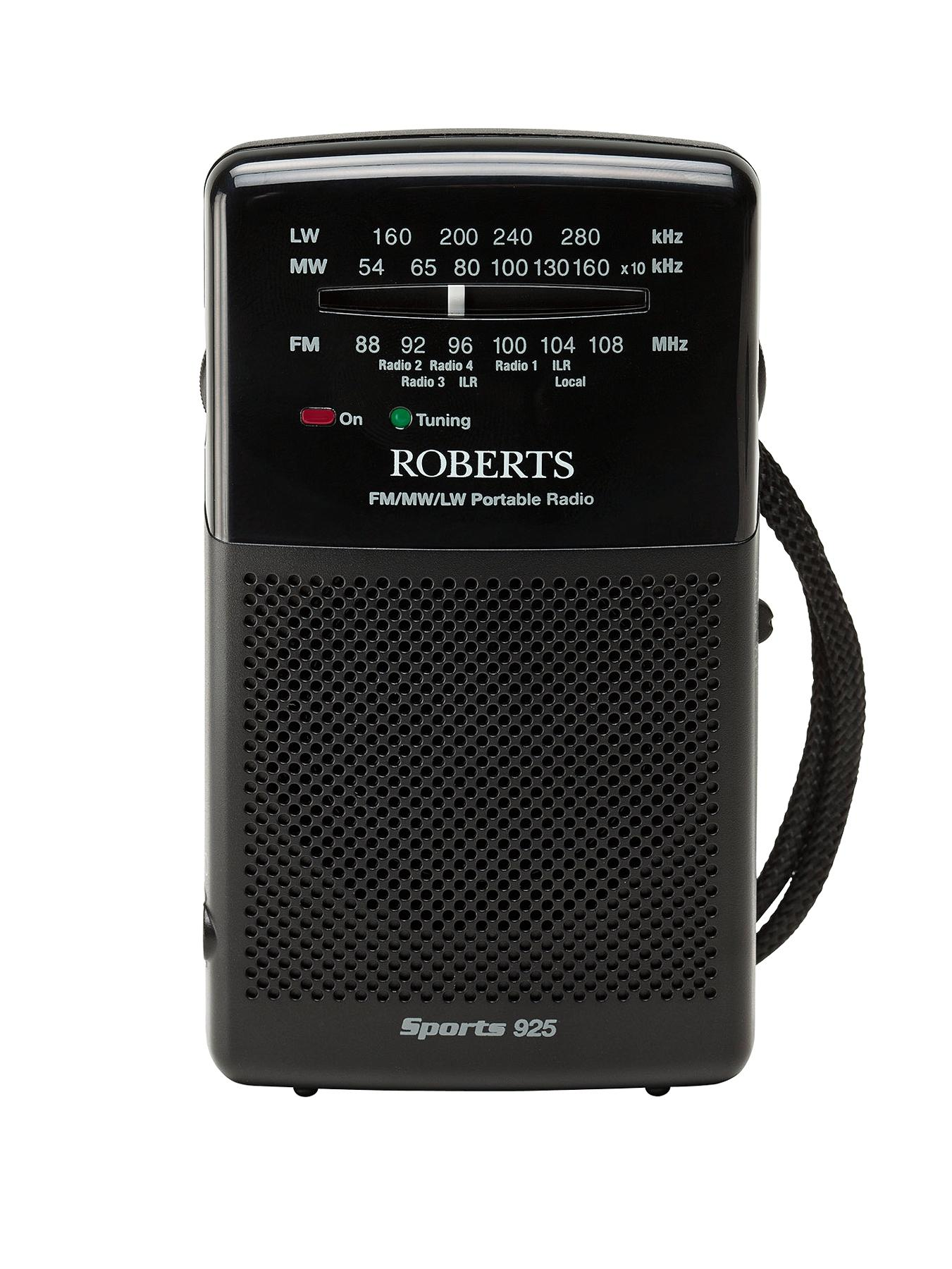 Sports 925 Portable Radio at Littlewoods