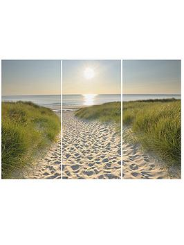 beach-walk-split-canvas