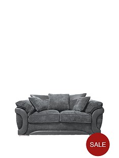 maze-fabric-and-faux-leather-2-seater-sofa
