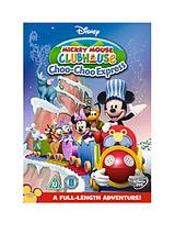 Mickeys Club House - Mickeys Choo Choo DVD