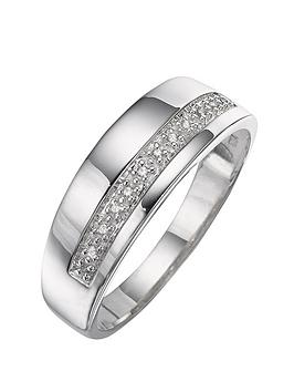 silver-and-diamond-band-ring