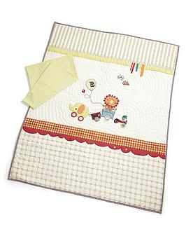 mamas-papas-jamboree-coverlet-and-pillowcase-set