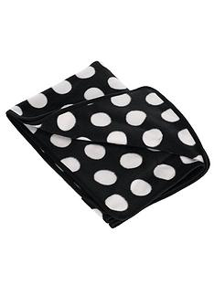 obaby-dotty-fleece-pram-blanket