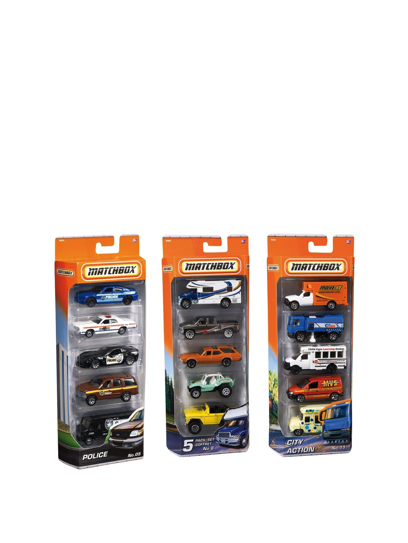 Matchbox Cars 5-Pack Assortment