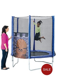 plum-kings-fortress-6-ft-trampoline-and-enclosure