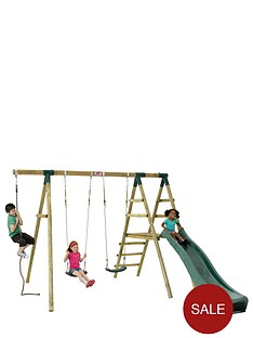 plum-giant-baboon-wooden-garden-swing-set