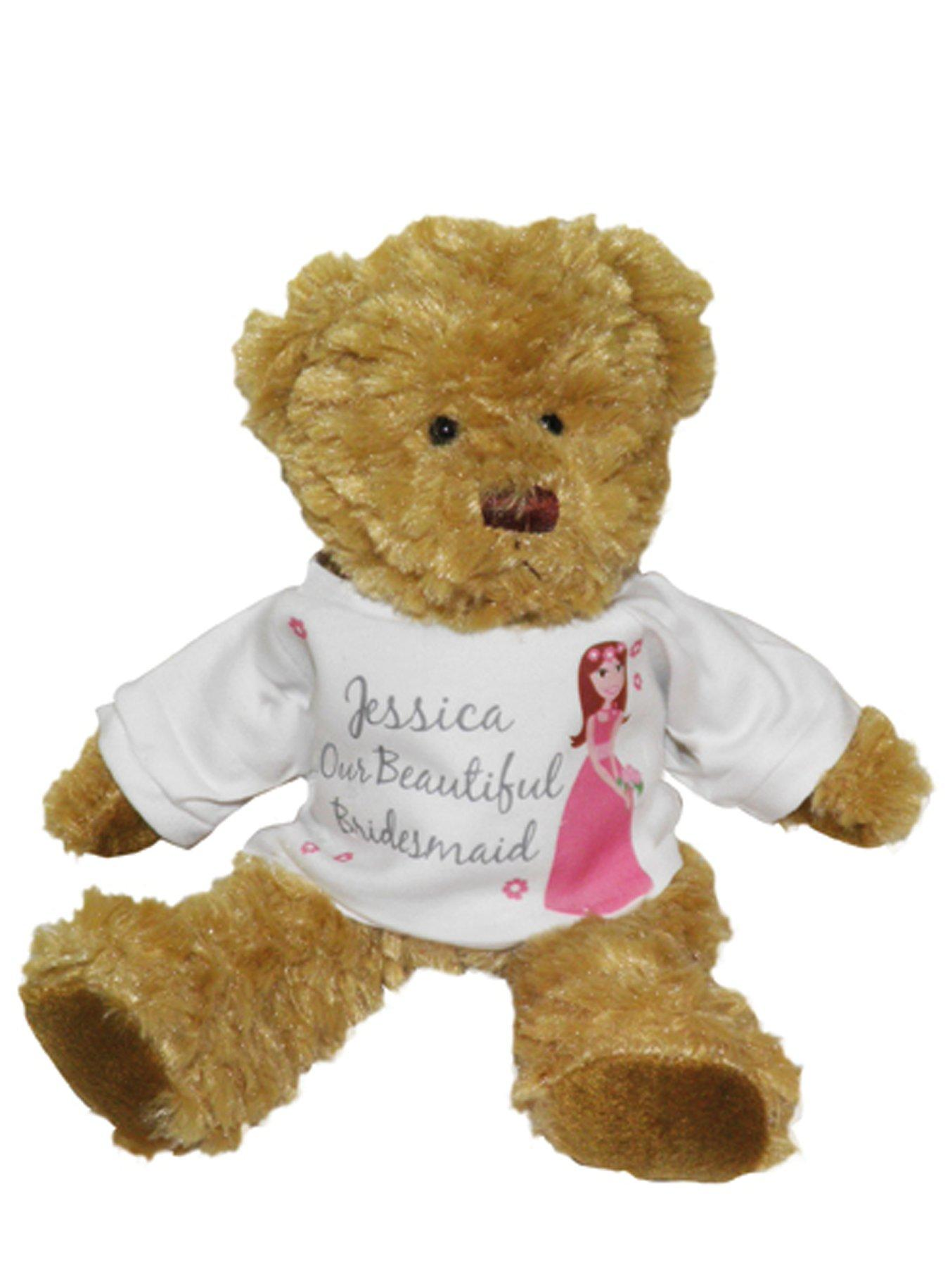 Personalised Bridesmaid Teddy