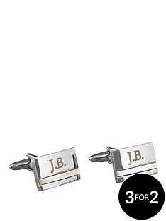 personalised-pearl-stone-cufflinks