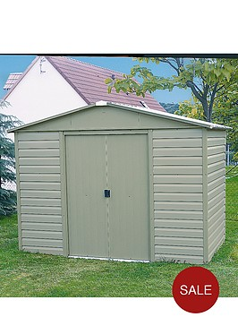yardmaster-94-x-74-ft-tongue-and-groove-metal-shed
