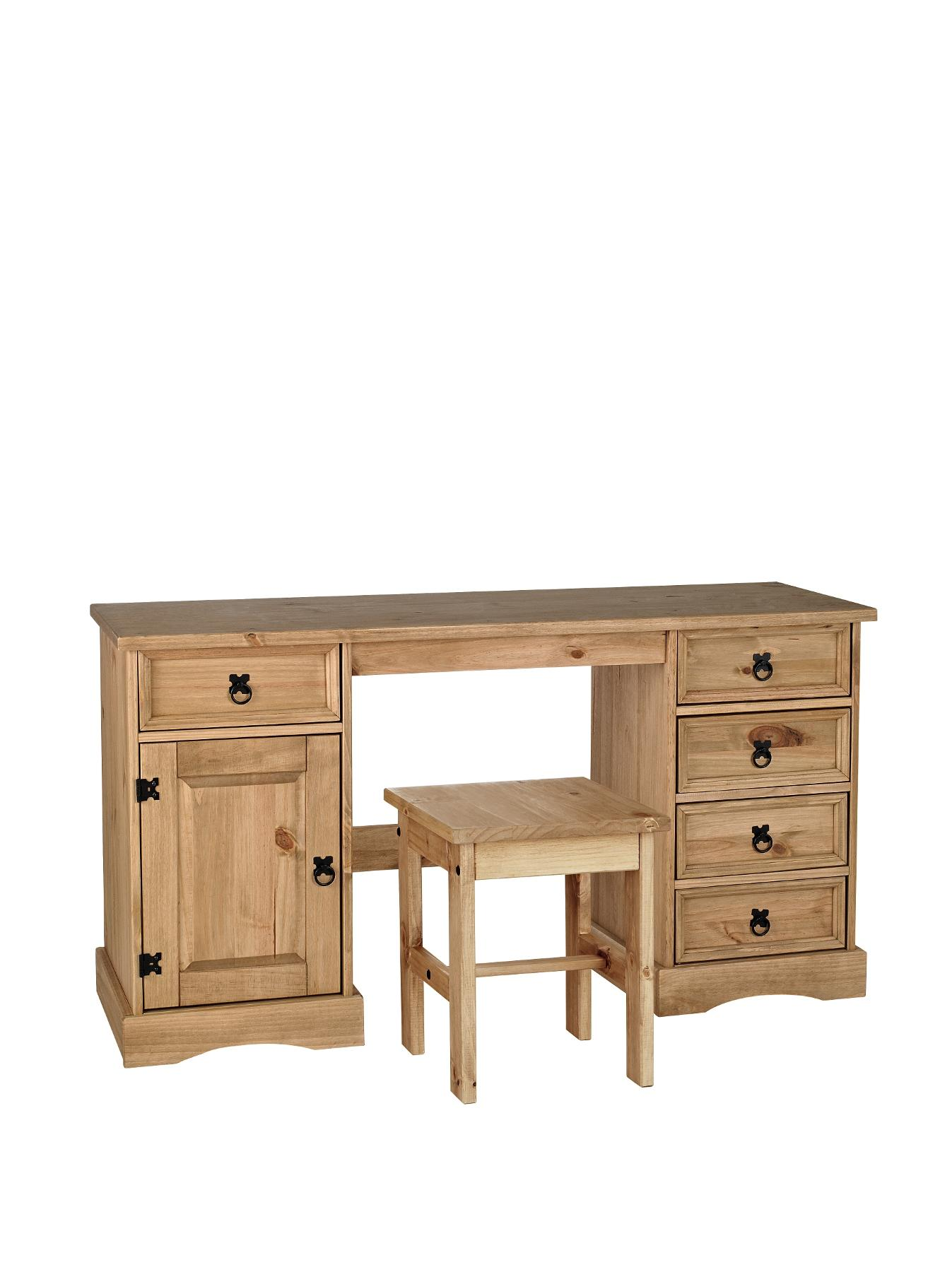 Corona Dressing Table and Stool