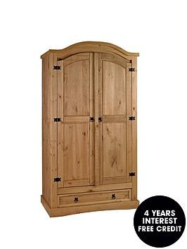 corona-2-door-1-drawer-arched-wardrobe