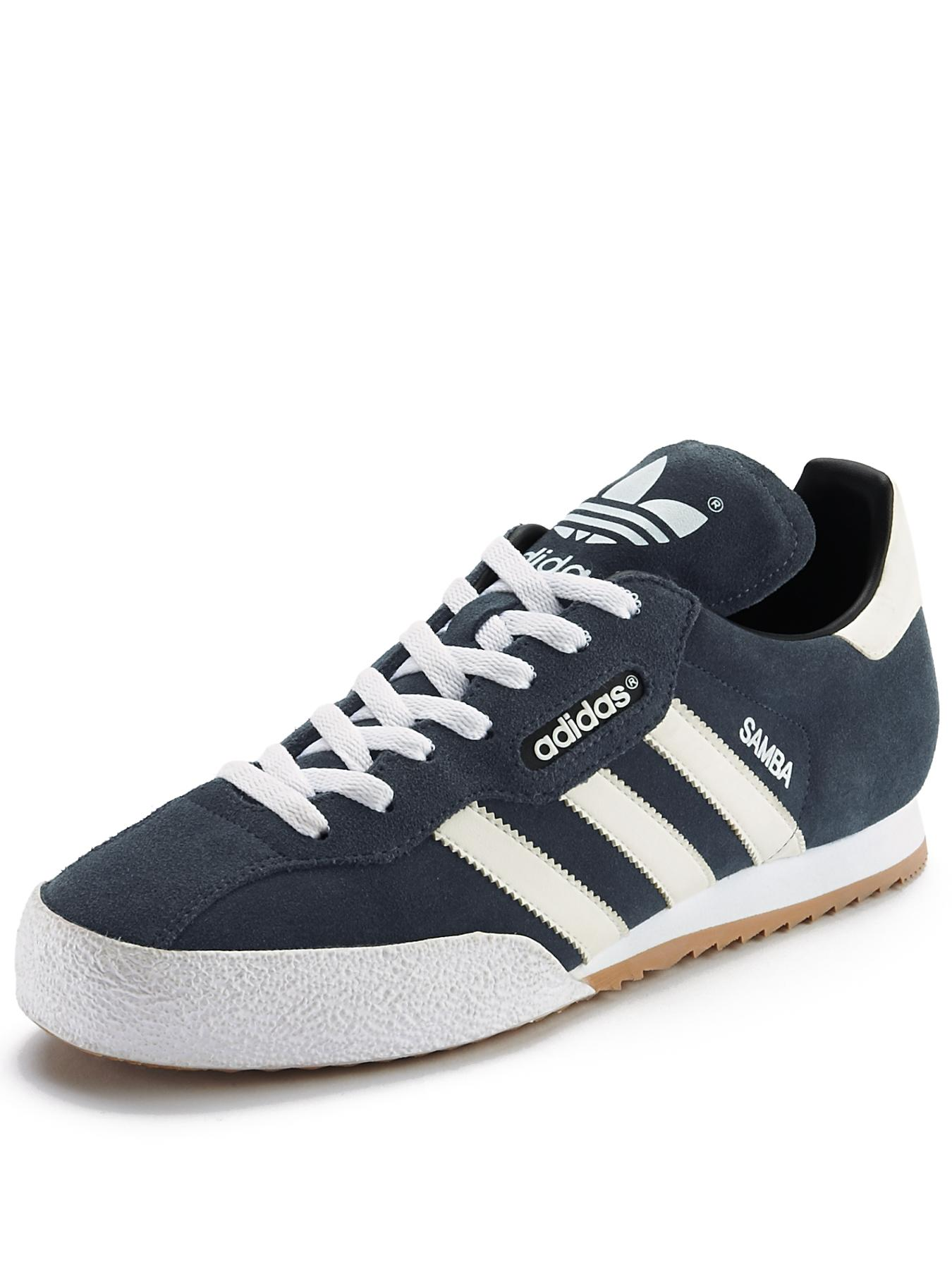 Samba Super Suede Trainers, Navy