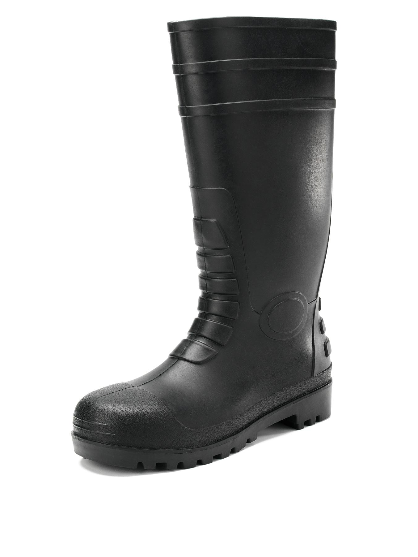 S5 Wellington Mens Safety Boots, Black